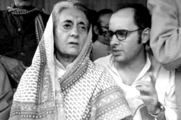 Indira Gandhi and Sajay Gandhi - the master brain and architects of 1977 national emergency