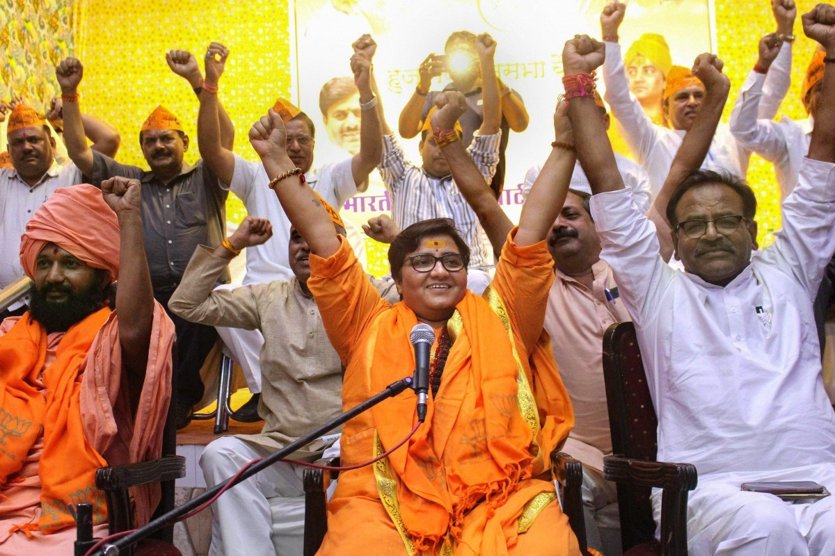 Sadhvi Prachi of BJP, who is facing terrorism trials in Court, emerged victorious in Lok Sabha Elections 2019